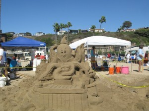 48th Annual Sandcastle Contest in Corona del Mar