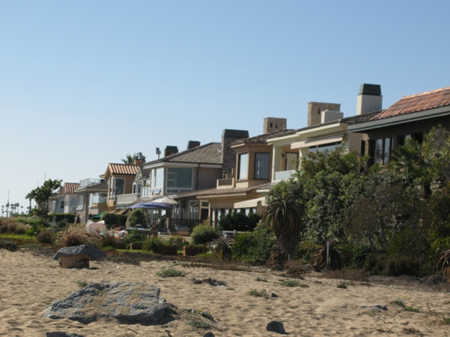 Peninsula Point Beach Front Homes