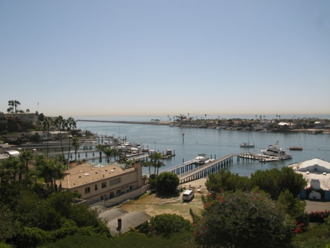 View of Newport Harbor