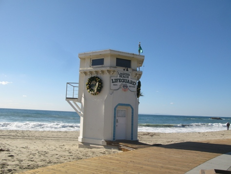 Laguna Beach Liuard Tower