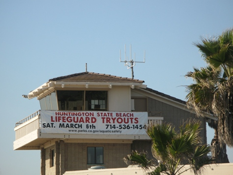 Huntington State Beach Lifeguard Try-Outs