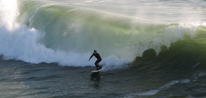 Surf's Up at Southern California Beaches