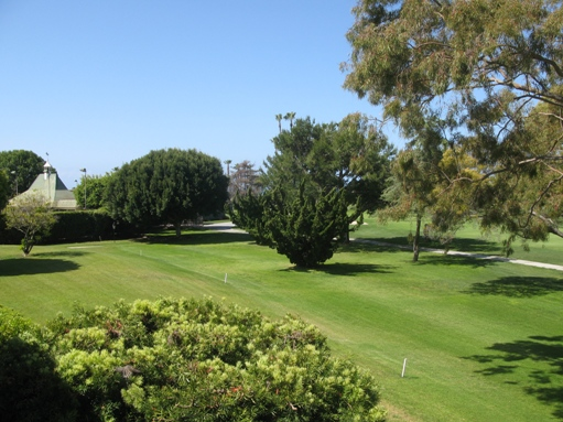 granville view of 9th fairway Newport Beach