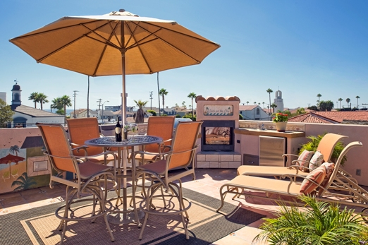 1325.5 West Bay, newport beach - rooftop deck