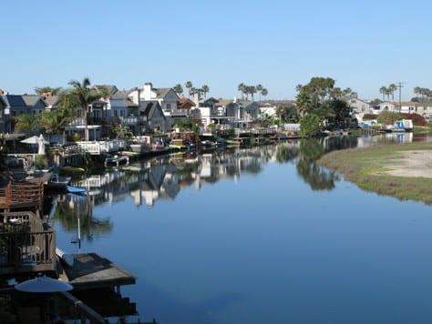 Newport shores canal