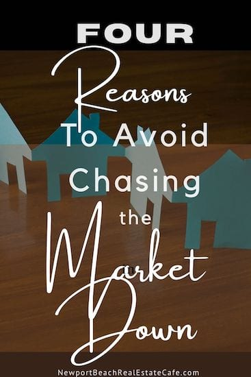 chasing the market down