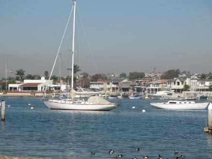 Lido Island in Newport Beach