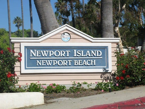 Newport Island in Newport Beach