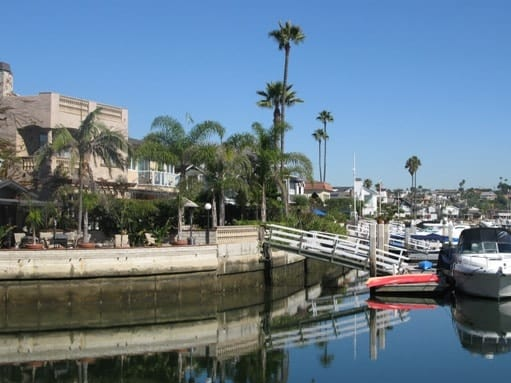 Newport Island in Newport Beach