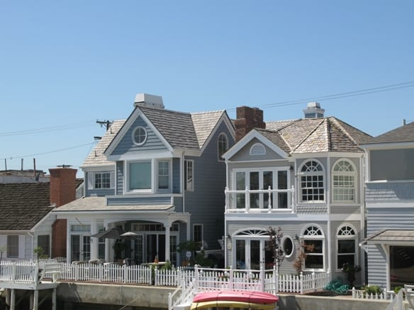 Balboa Island Homes on the Grand Canal