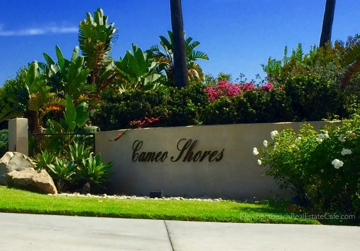 Cameo Shores Homes for Sale Corona del Mar