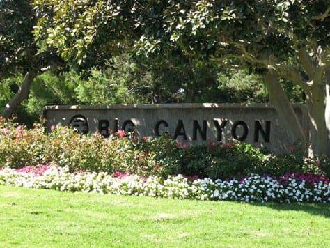 Big Canyon in Newport Beach