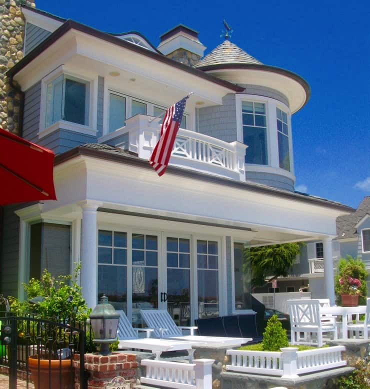 Balboa Island homes for sale in Newport Beach CA