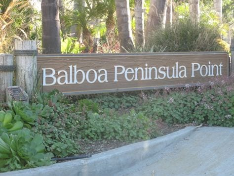 Balboa Peninsula Point homes for sale in Newport Beach CA