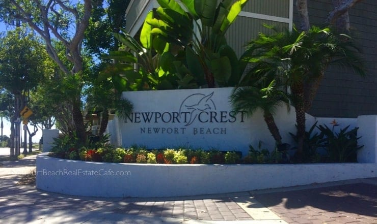 Newport Crest condos for sale Newport Beach