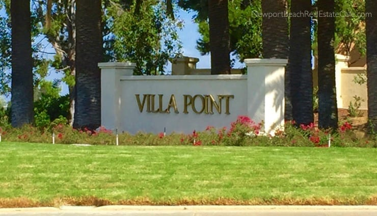 Villa Point Recent Home Sales in Newport Beach CA