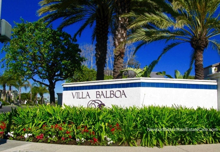 Villa Balboa Condos for Sale Newport Beach CA