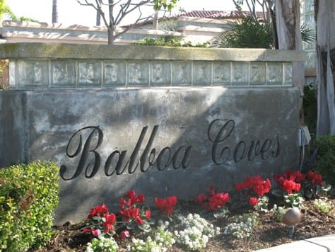 balboa coves in Newport Beach