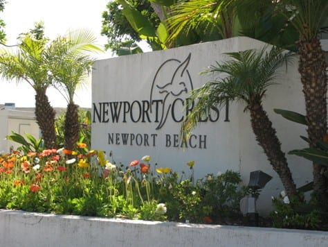 newport crest in newport beach