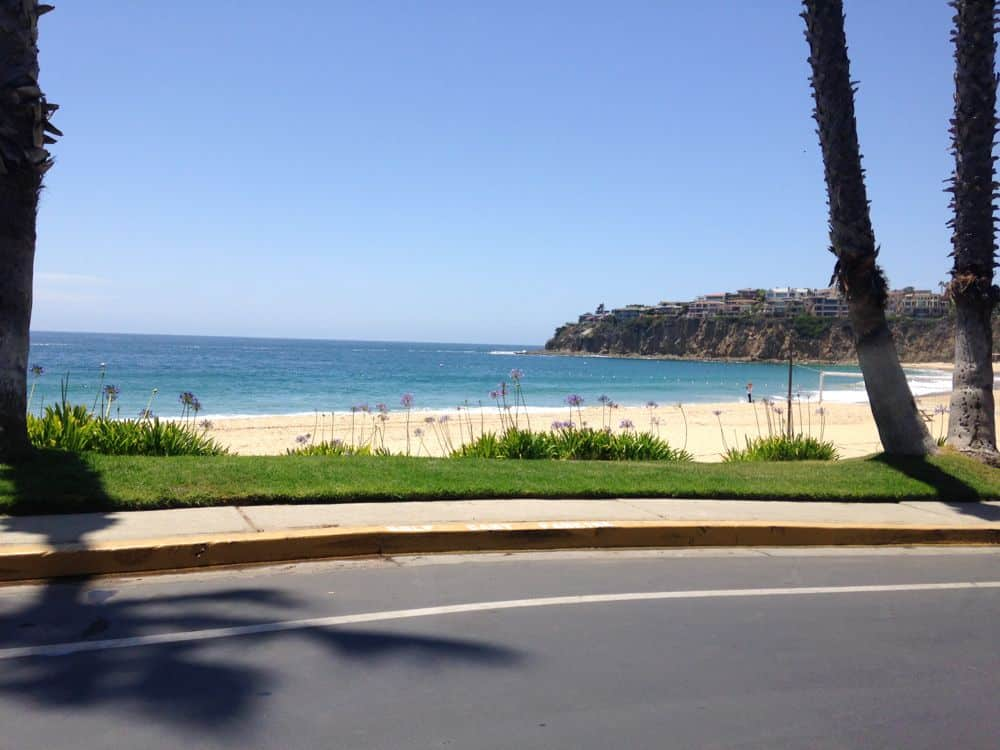 Ocean view homes in Laguna beach