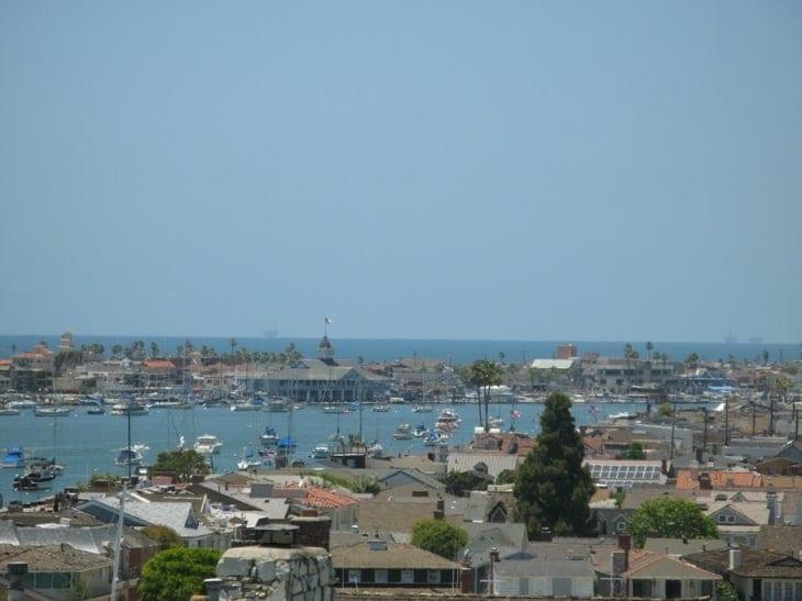 Irvine Terrace in Corona del Mar, CA