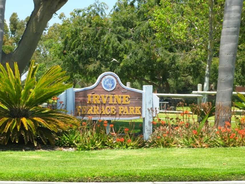 Irvine Terrace Park Newport Beach Ca