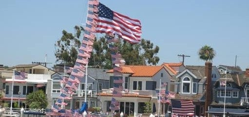 Fourth of July in Newport Beach