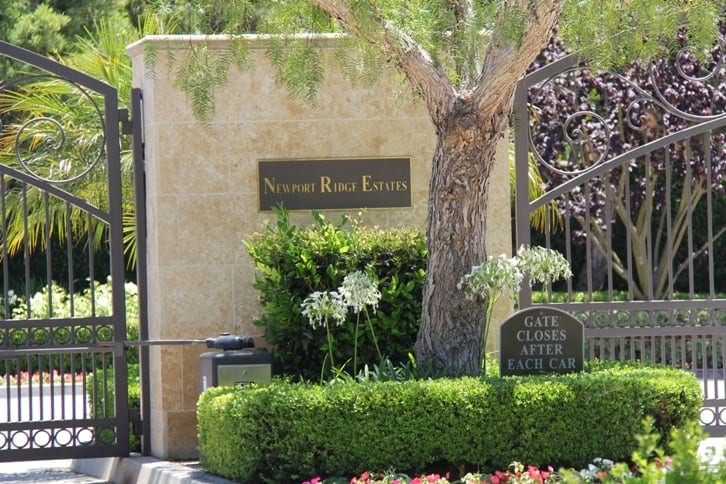 Newport Ridge Estates in Newport Coast, CA