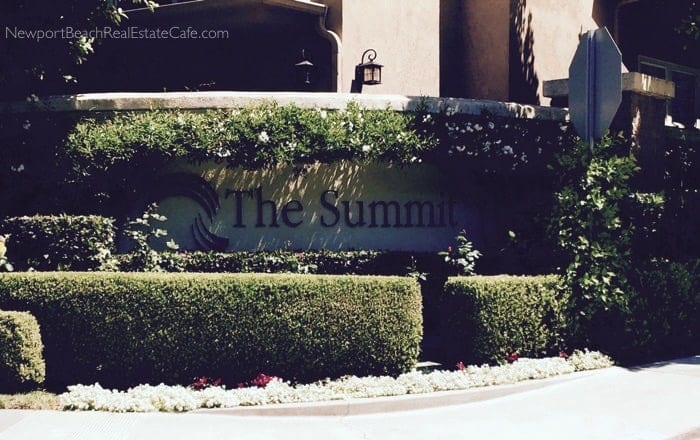 The Summit Condos in Newport Coast