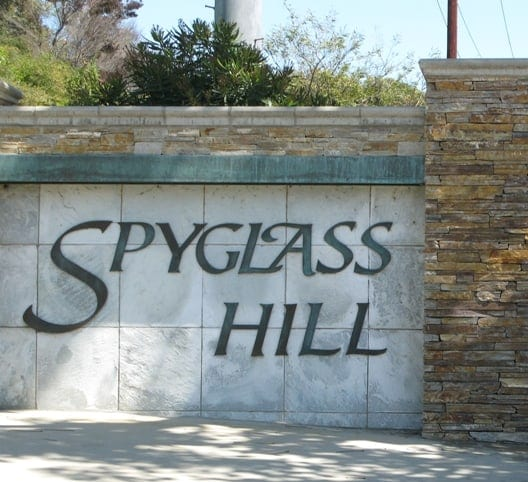 Spyglass hill in Corona del mar
