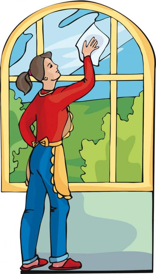 clean the house clipart - photo #7