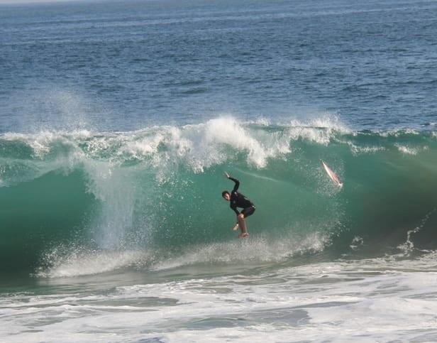 The Wedge in Newport Beach, CA - August, 2011