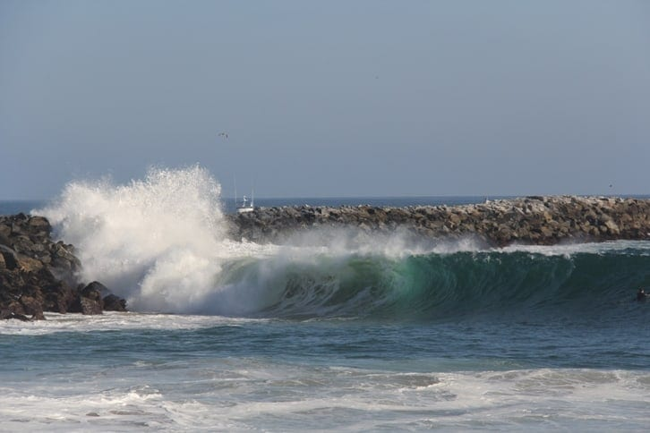 wedge in Newport Beach, CA