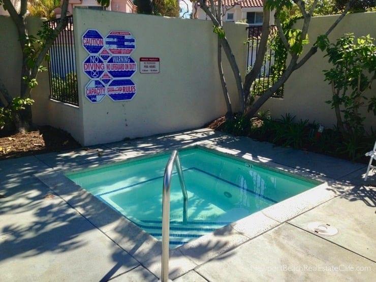 Bayview Terrace Pool in Newport Beach CA