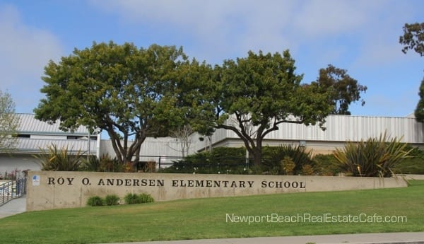 Anderson Elementary in Newport Beach