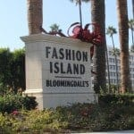 Black Friday Shopping at Fashion Island, Newport Beach