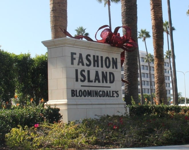 Fashion Island in Newport Beach