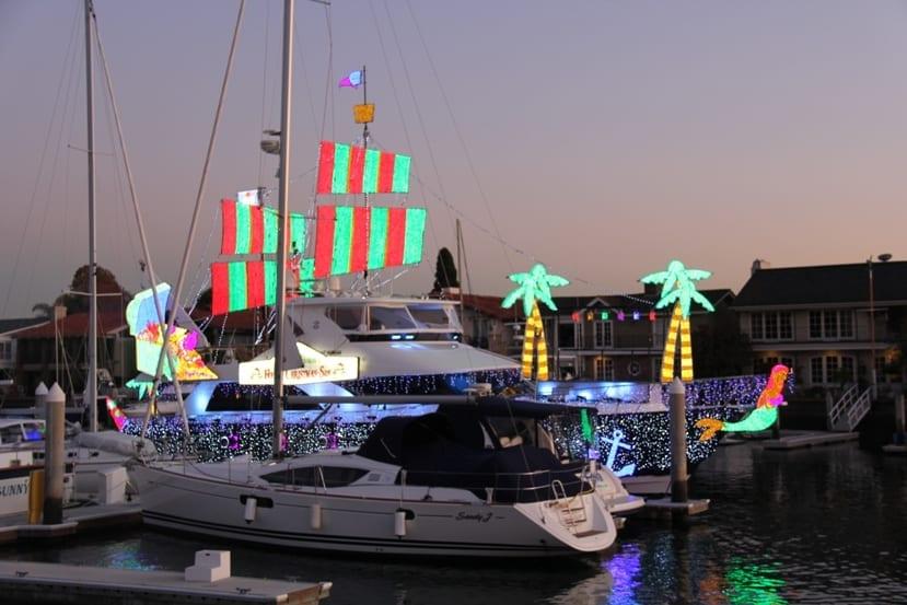 Newport Beach Christmas Boat Parade December 2012
