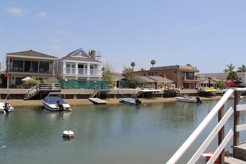 Balboa Island in Newport Beach