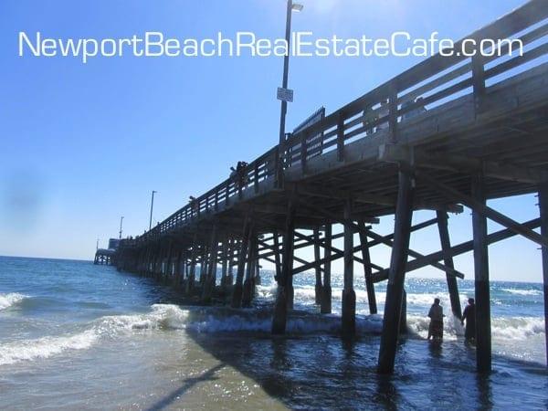Pier located in Newport Beach