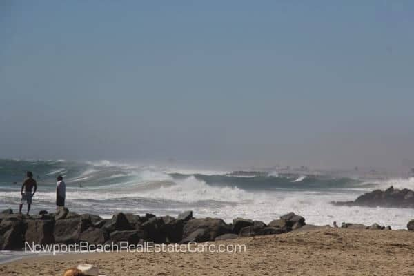 Newport Beach High Surf Advisory