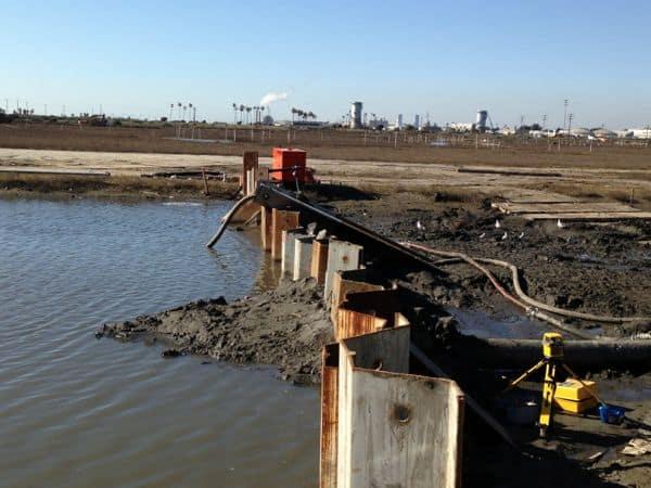 Newport Shores dredging