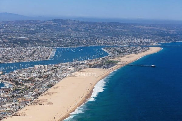 Balboa Peninsula in Newport Beach