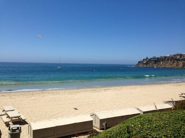 Emerald Bay in Laguna Beach