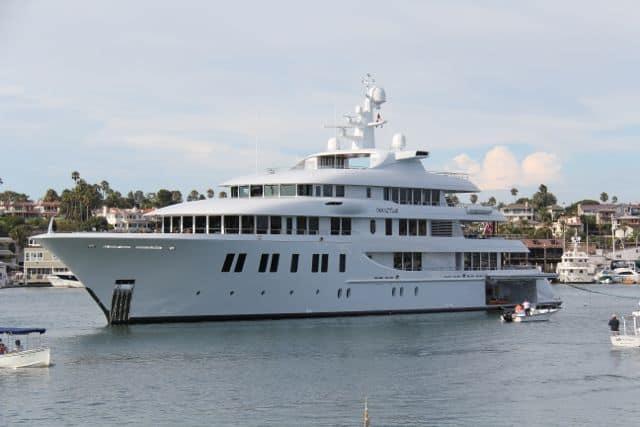 Newport Harbor The Invictus Yacht