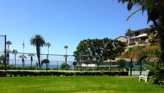 Emerald Bay Tennis court