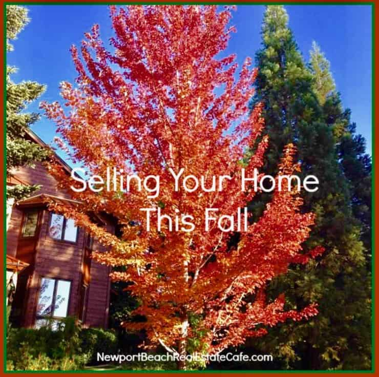 Consider selling your home this fall