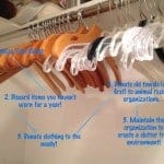 declutter and organize your closet