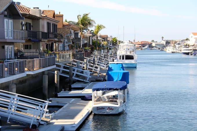 Davneport Island in Huntington Harbor