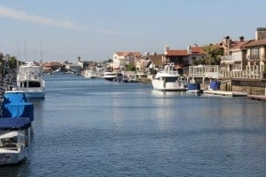 Davneport Island in Huntington Harbor